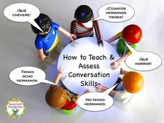 Teaching conversation skills in the foreign language classroom and how to assess it.