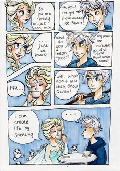 Jack and Elsa: The Date by My-Anne on DeviantArt
