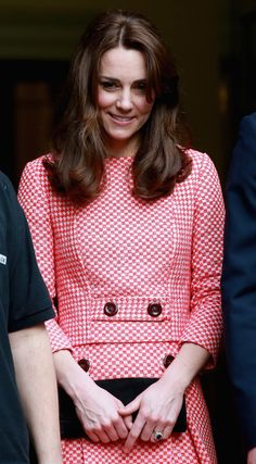Catherine, Duchess of Cambridge visits the mentoring programme of the XLP project, London Wall on March 11, 2016 in London, England.