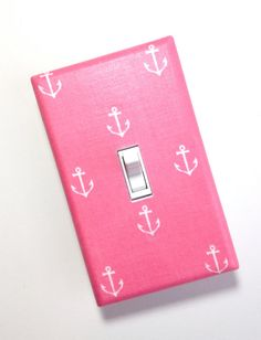 Anchor Nursery Decor Light Switch Plate Cover / by SSKDesigns, $8.00