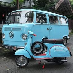 #Volkswagen and #Vespa ✿♡✿