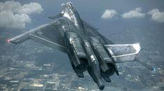 Caza avanzado conceptual (Ace combat) / Advanced fighter concept (Ace combat)