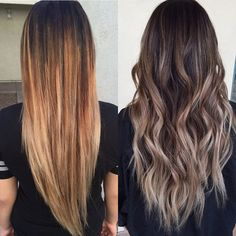 Bye bye lines and brass seriously not ok!! @habitsalon #ombre #prettyhair #balayage #longhair #wavyhair #pretty