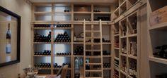 Wine room.