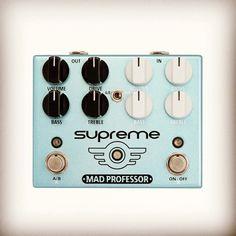 Double overdrive pedal designed with Matt Schofield Mad Professor, Supreme, Design