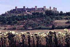 The walled town of Monteriggioni Siena, New York Skyline, Vineyard, Italy, Travel, Outdoor, Outdoors, Italia, Viajes
