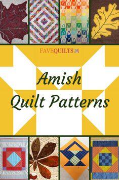 21 Amish Quilt Patterns #freequiltpatterns Amish Quilt Patterns, Amish Quilts, Pattern Blocks, Patch Quilt, Applique Quilts, Quilt Blocks, Applique Patterns, Barn Quilt Designs, Quilting Designs