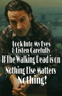 From 9-10 the walking dead