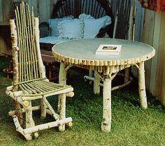 Adirondack and Twig Furniture