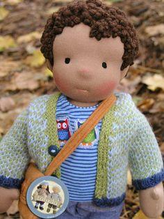 Shaun - waldorf boy doll by Lalinda.pl