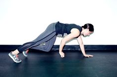 Not your everyday toe taps. http://www.thecoveteur.com/full-body-workout-at-home-for-women/