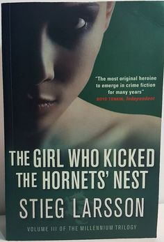 The Girl Who Kicked The Hornets' Nest Volume 3 Paperback Book Stieg Larsson book