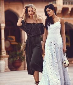 April Catalog Ft. Freida Pinto | Free People Blog. Would make an interesting wedding dress