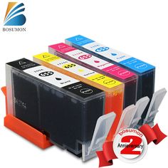 655 Bosumon Compatible ink cartridge for HP 655 CZ109AE CZ110AE CZ111AE CZ112AE Deskjet 3525 4615 4625 5525 6520 6525