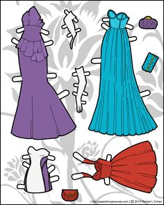 formal-gowns-paper-doll-color.png (1200×1500)