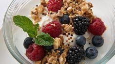 Toasted Quinoa-Walnut Breakfast