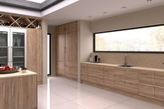 The delicate shade of our Sonoma Natural Oak Pisa doors will help your kitchen feel bright, yet homely with its sense of richness and warmth. Pair with a muted colour worktop and slim handles to complete that cosy but modern look. Stylish Kitchen, Kitchen Collection, Muted Colors, Interior Design Kitchen, Pisa, Contemporary, Modern, Minimalist, Delicate