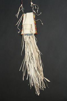 leather bag by SuSu   .... #leather#fringe#gypsy#beads#boho#shaman bag