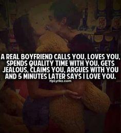 A Real Boyfriend...