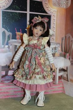 Ruffles and Bows for 14 Kish Chrysalis Song Piper by Alisewndolls