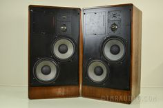 Ads L910 Classic Vintage Speakers with LED Power Meters | eBay