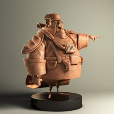 CHARACTER & STYLE Mind blowing stylizations. These are sculpts but still relevant