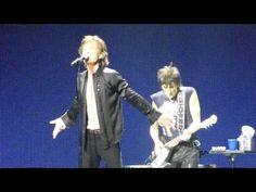 Rolling Stones Paint It Black 5-3-13 Staples Center
