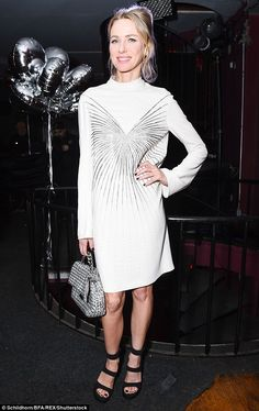 Chic:Actress Naomi Watts, 48, oozed elegance and contentment while attending the Stella M...