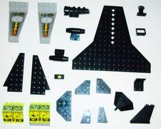 Lego alien mothership lego space shuttle parts Legos set