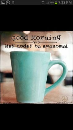 goodmorning! goedemorgen!