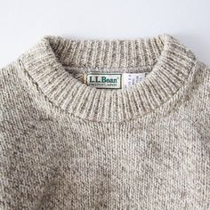 Ll bean sweater. Casual style. Fall style.