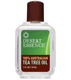 Tea tree oil is an essential component to my face care routine. In my late 20s, I started developing hormonal acne, and this oil helps keep it at bay.   How I Use It: Every night, I mix 3-4 drops of tea tree oil to approximately a teaspoon of grapeseed oil. I spread the mixture all over my face, and leave it on overnight. My face looks refreshed in the morning.  On no-makeup days, I apply the tea tree oil mixture in the morning, and leave it on all day.