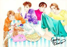 Boys Over Flowers, Yoko, Character Ideas, Hana, Anime, Cartoons, Black And White, Gallery, Image