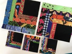 Quilt Along - Week 3 Quilting Blogs, Art Quilting, Machine Quilting, New York Beauty, Log Cabin Quilts, African Fabric, Tangled, It Works, January