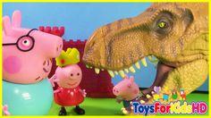Peppa pig y La Estrella Mágica de los Deseos Capitulo 2 - Videos de Dino...