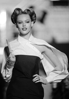 Frida Gustavsson - Jean Paul Gaultier S/S12