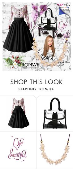 """""""Romwe 1"""" by dinka1-749 ❤ liked on Polyvore featuring Rika"""
