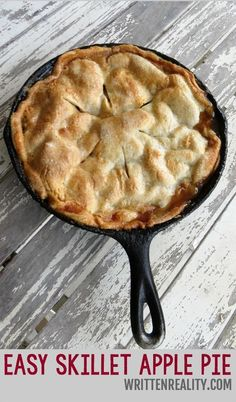 Easy Skillet Apple Pie (scheduled via http://www.tailwindapp.com?utm_source=pinterest&utm_medium=twpin&utm_content=post738219&utm_campaign=scheduler_attribution)