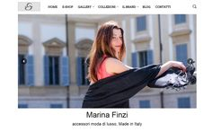 Discover our new web site: new layout, new blog and many images for a simple navigation! Fashion in one click! #marinafinzi #MadeinItaly