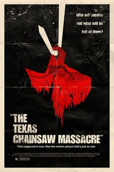 Faux Movie Poster: Texas Chainsaw Massacre