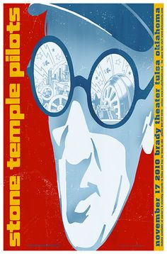 Stone Temple Pilots. #gigposters #musicart #concerts http://www.pinterest.com/TheHitman14/music-poster-art-%2B/