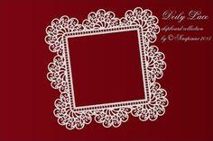 Doily frame vierkant           Pre-order 25-11