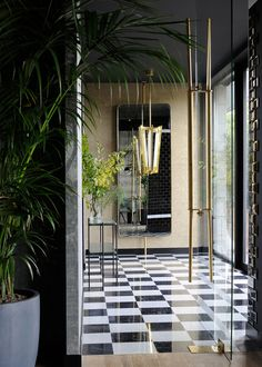 Ресторан La Forêt Noire во Франции: интерьеры от дизайнера Клод Картье | Admagazine | AD Magazine