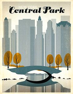 New york central park large #metal poster tin sign wall #plaque vintage #retro ,  View more on the LINK: 	http://www.zeppy.io/product/gb/2/301651718494/