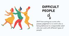 While difficult people are a reality of life and everything we feel about them may be true, is it really in our best interest to navigate our lives by blaming them and pretending that we didn't succeed because of some mean co-workers #communication #difficultpeople #toxic #selfawareness #coworkers #information #effectivecommunication #leadership #management #personaldevelopment #selfimprovement #learning #people #egos #toxicpeople #work #support