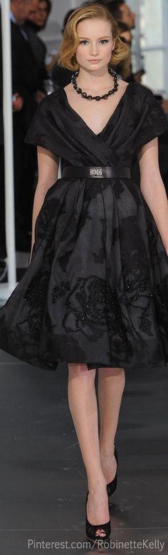 Christian Dior Haute Couture.