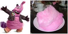 """Serve the same type of cotton candy Bing Bong is made out of. 