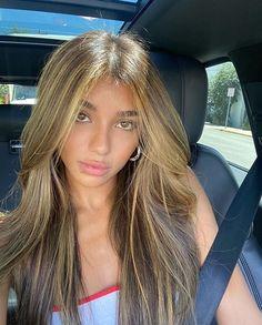 Brown Hair Balayage, Hair Highlights, Caramel Highlights, Brunette Hair, Blonde Hair, Hair Inspo, Hair Inspiration, Dye My Hair, Aesthetic Hair