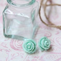 Wild Rose Mint Green