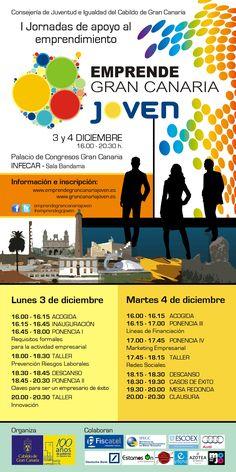 Jornadas Emprende Gran Canaria Joven